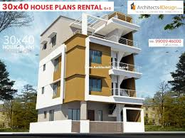 100 Villa Houses In Bangalore 30x40 HOUSE PLANS In For G1 G2 G3 G4 Floors 30x40