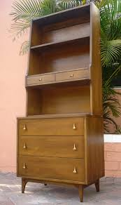Broyhill Brasilia Gentlemans Dresser by Vintage Broyhill Brasilia 2 Piece Modular Bookcase Furnishings