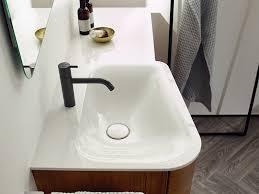 burgbad badu waschtisch mit waschtischunterschrank 920 mm 1 regal seitlich