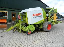 Christmas Tree Baler Used by Used Claas Rollant 255 Uniwrap Round Balers Price 22 426 For