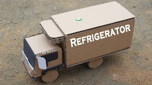 How To Make A Refrigerator Truck From Cardboard - Amazing Truck DIY ...