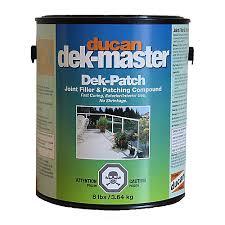 Home Depot Floor Leveler by Ducan Dek Patch Dek Patch Filler U0026 Floor Leveling Compound The