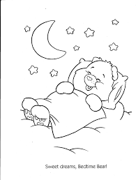 Care Bears Printable Coloring Book Pages