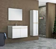 casa padrino luxus badezimmer set weiß gold 1 waschtisch und 1 waschbecken und 1 led wandspiegel und 1 hängeschrank luxus kollektion