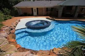 light blue pool finish national pool tile