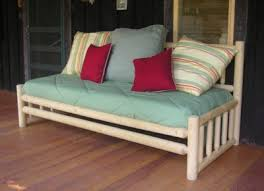 discover the versatility of log daybeds woodland creek s log
