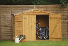 6x3 Shed Bq by Forest Garden 7 Ft W X 3 Ft D Wooden Bike Shed U0026 Reviews