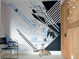 Creative Wall Paint Designs Outsourcing Retaining Design Services