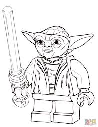 Download Coloring Pages Yoda Lego Star Wars Master Page Free Printable