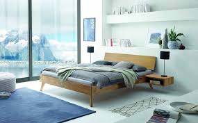ancona massivholzbett 90 200 cm wählbar eiche bianco geölt günstig möbel küchen büromöbel kaufen froschkönig24