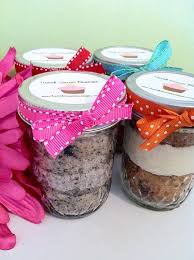Cupcake Mixes In Jars Great Gift