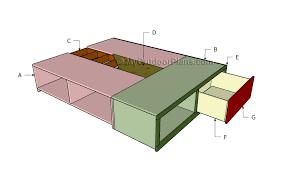 queen storage bed plans myoutdoorplans free woodworking plans