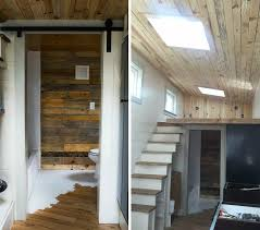 This Light-filled Tiny House Is Made Almost Entirely Of Reclaimed ... 50 Stunning Modern Home Exterior Designs That Have Awesome Facades Baby Nursery Stone And Wood House Adorable Villas Stone 4 Homes With Design Focused On Beautiful Wood Elements Interesting Southland Log For Zen Interior In Singapore Dcor Ideas Wood House Creative 2016 An Environmtalfriendly Woodclad Uk Milk 100 2017 Best 25 Wooden Ceiling Design Ideas Pinterest Asian Plans Home Plans Custom Services From Alan Amazing Fascating Small Idea