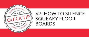 Stop Squeaky Floors From Above by Quick Tip 7 How To Silence Squeaky Floor Boards Apartment Therapy
