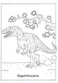 Dinosaure Coloriage T Rex Coloring Page Dinosaurs 2 Gigantosaurus