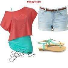 Trendy Spring Summer 2013 Outfit For Women