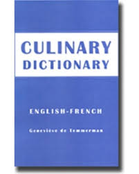 dictionnaire cuisine francais savings on culinary dictionary dictionnaire