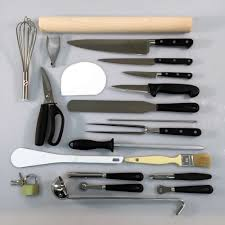 coutellerie cuisine mallette couteaux cuisine professionnelle 21 pièces eurolam