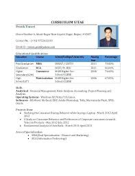 Simple Resume Format Pdf Sample College Student