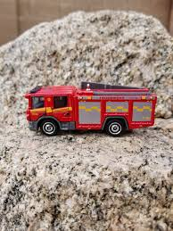 100 Fire Truck Accessories Christmas Ornament Matchbox Scania P 360 Truck Etsy