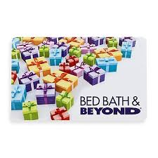 Multi Color Presents Gift Card Bed Bath & Beyond