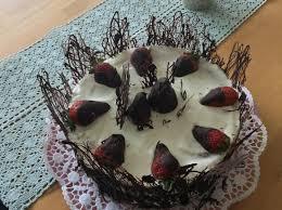 erdbeer sahne schoko torte