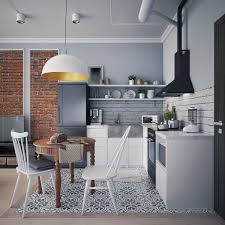 Interior Design Gray Kitchen