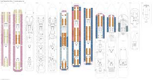Carnival Splendor Deck Plans by Carnival Splendor Deck Plans Radnor Decoration