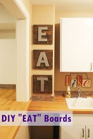 Diy Eat Kitchen Decor Project