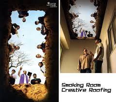 smoking room ceiling propel steps