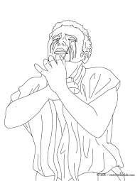 MYTH OF OEDIPUS Coloring Page