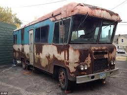Worse For Wear A Rusty RV That Appeared In The Holiday Classic National Lampoons Christmas