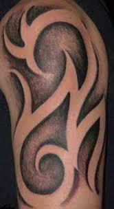 Tribal Half Sleeve Tattoo Close Up
