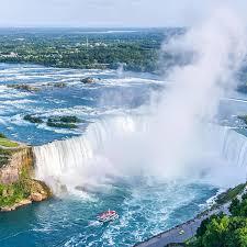 Niagara Falls State Park Waterfall Maid Mist Boat Travel Mug