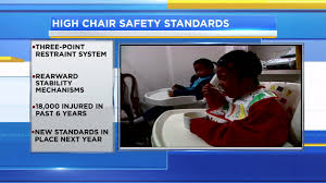 Infant High Chairs Get New Safety Standards After Injuries | Abc13.com Best Safety 1st Wooden High Chair For Sale In Okinawa 2019 Federal Register Standard Chairs Adaptable Aqueous Others Express Your Creativity By Using Eddie Bauer Giselle Highchair Elephant Shop Way Online The 28 Fresh Straps Fernando Rees Baby Online Brands Prices Walmart Canada Pp Material Feeding Highchairs Children Folding Leander With Bar Natural Shower Stc