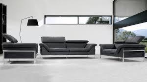 canap en cuir design salon moderne encuir chaios com