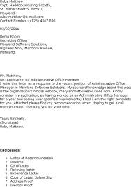 Cover Letter For Front Desk Officer by Cover Letter Office Manager Cover Letter Examples Office Manager