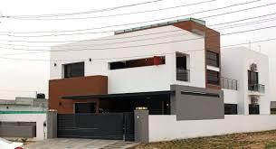 100 Modern House Architecture Plans 1 Kanal Housearchitecturedesignhome Designsfront Elevation