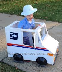 Coolest Mailman And Mail Delivery Truck Costume | Coolest Homemade ...