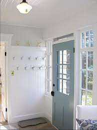 Give Texture And Unite Course To An Entry Or Mudroom On This One Beadboard Runs Horizontally Beneath The Chair Rail Vertically Above