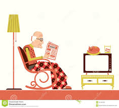 Old Man Sitting And Reading Newspaper Stock Vector ... 39 Of Our Favorite Accent Chairs Under 500 Rules To J16 Rocking Chair Skandium Kirkton House Rocking Chair Vintage Leather Armchair English Wingback Late 20th My Study Spots On Campus Adventures In Admission Opulence By Hal Taylor 10 Best Chairs The Ipdent Best Reading 2019 Gear Patrol Nursing The Feeding For New Mums And Buy Lullaby Goodnight Book Online At Low
