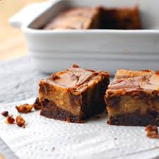 Marbled Pumpkin Cheesecake Brownies by Peanut Butter Cheesecake Brownies Recipe Pinch Of Yum