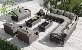 canapé de jardin design salon de jardin design mobilier exterieur unique lzzy co