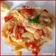 fenouil cuisiner saumon au fenouil et tomates recette iterroir
