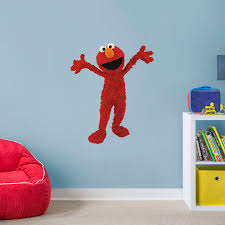 Elmo - Life-Size Officially Licensed Sesame Street Removable Wall Decal Milk Snob Cover Sesame Street 123 Inspired Highchair Banner 1st Birthday Girl Boy High Chair Banner Cookie Monster Elmo Big Bird Cookie Birthday Chair For High Choose Your Has Been Teaching The Abcs 50 Years With Music Usher And Writing Team Tell Us How They Create Some Of Bestknown Songs In Educational Macreditemily Decor The Back Was A Cloth Seaame Love To Hug Best Chairs Babies Block Party Back Sweet Pea Parties Childrens Supplies Ezpz Mat