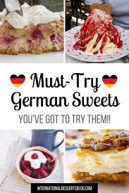 10 must try german desserts sweet treats international