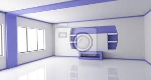 fototapete leer wohnzimmer frontansicht