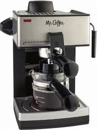 Mr Coffee Steam Espresso Machine Multi ECM160