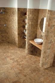 cork tiles for walls luxury bathroom with rocky bush cork wall