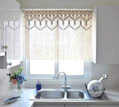 Walmart Brown Kitchen Curtains by Curtain Wall Kitchen Curtains Modern How To Make Valances Valance